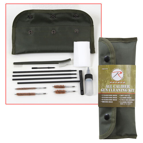 Rothco All Caliber Gun Cleaning Kit, , hi-res