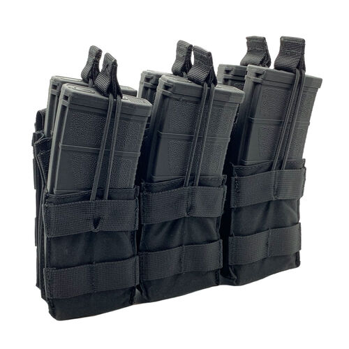 Shellback Tactical Triple Stacker Open Top M4 Mag Pouch, , hi-res