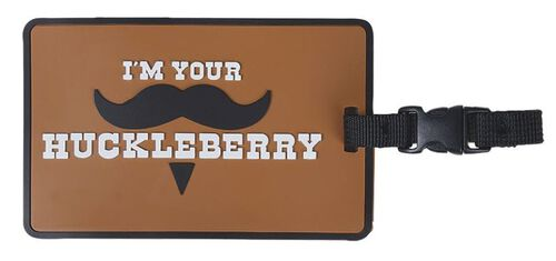 5ive Star Gear I'M Your Huckleberry Luggage Tag, , hi-res