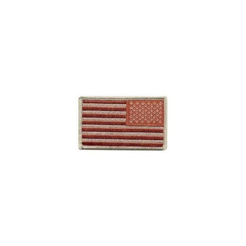 Reverse U.S. Flag Patch With Hook, , hi-res