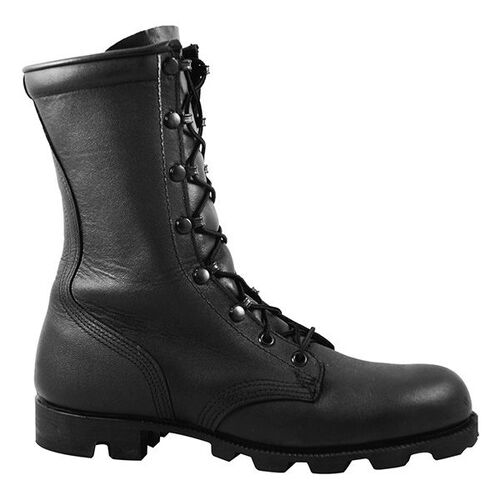 McRae All Leather Combat Boots with Panama Sole, , hi-res