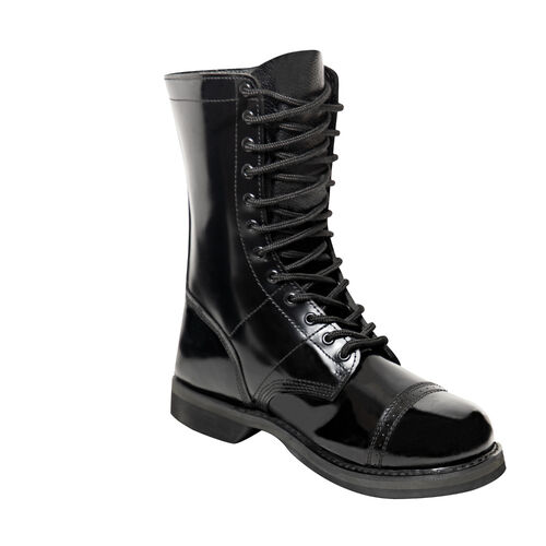 """Rothco 10"""" Leather Jump Boots, , hi-res"""