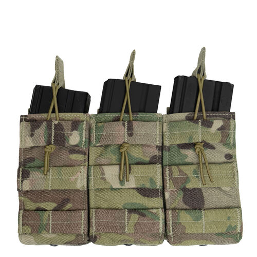 Rothco MOLLE Open Top Triple Mag Pouch, , hi-res