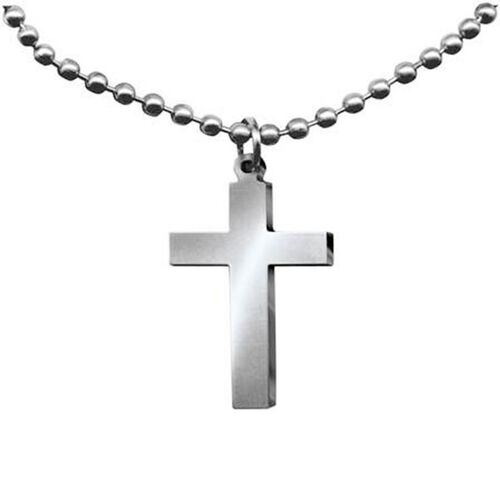 GI Jewelry Cross Necklace, , hi-res