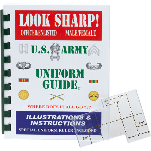 Look Sharp! U.S. Army Uniform Guide, , hi-res
