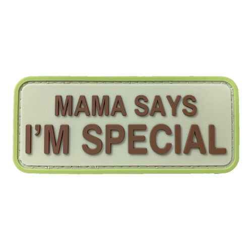Mama Says I'm Special PVC Morale Patch, , hi-res
