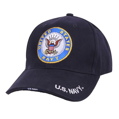 Rothco U.S. Navy Deluxe Low Profile Cap, , hi-res