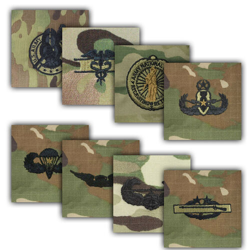 US Army Qualification and Combat Badges, , hi-res