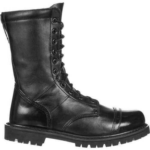 """Rocky 10"""" Side Zip Leather Jump Boots, , hi-res"""