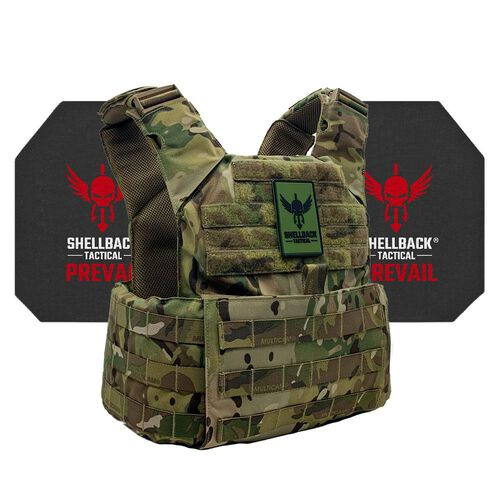 Shellback Tactical Skirmish Active Shooter Kit with Level IV Model 4S17 Armor Plates, , hi-res