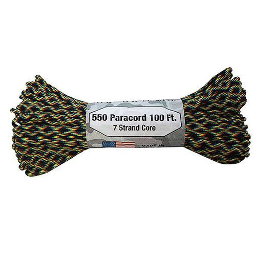 Atwood Rope 7 Strand 550 Paracord 100' Galaxy, , hi-res