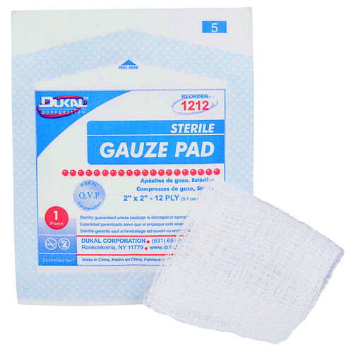 Boundtree Sterile Gauze Pads, , hi-res