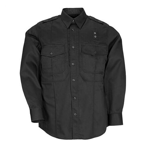 5.11 Tactical Men's L/S Twill PDU Shirt - A Class, , hi-res