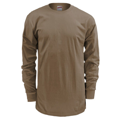 Soffe 50/50 Poly/Cotton Long Sleeve T-Shirt, , hi-res