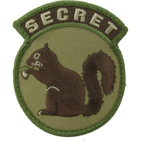 Secret Squirrel Morale Patch, , hi-res