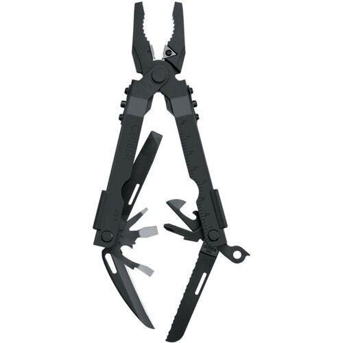 Gerber Military Multi-Plier 600-Bluntnose Black with Carbide Insert Cutters NSN: 5110-01-346-5341, , hi-res