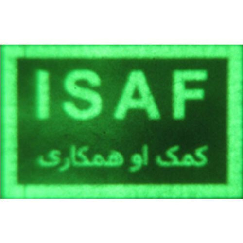 Infrared ISAF Patch with Hook, , hi-res