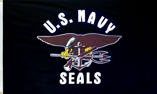 Rothco United States Navy Seals Flag, , hi-res