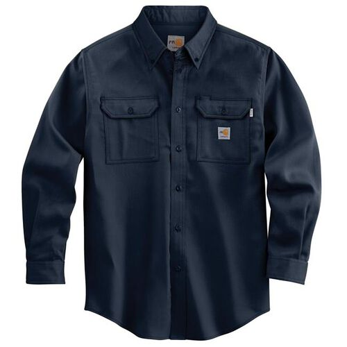 Carhartt Flame-Resistant Lightweight Long Sleeve Twill Shirt, , hi-res