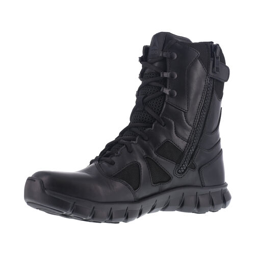 Reebok 8 Inch Sublite Cushion Tactical Side Zip Boots, , hi-res
