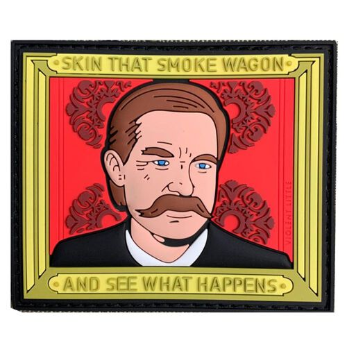 """Skin That Smoke Wagon"" Tombstone Patch, , hi-res"
