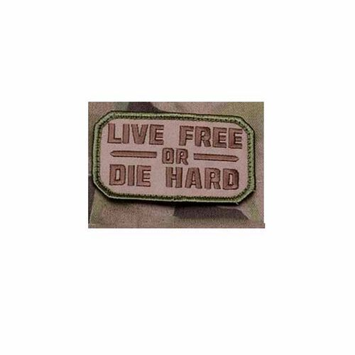 Live Free or Die Hard Patch Mil-Spec Monkey Morale Patches, , hi-res