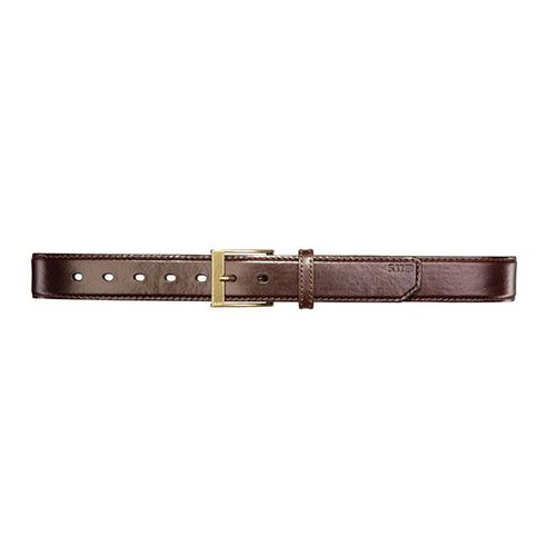 5.11 Tactical Casual Leather Belt Plain 1.5 inch, , hi-res