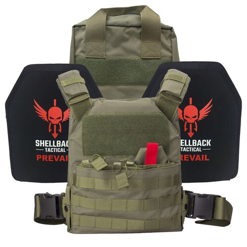 Shellback Tactical Defender Active Shooter Armor Kit, , hi-res