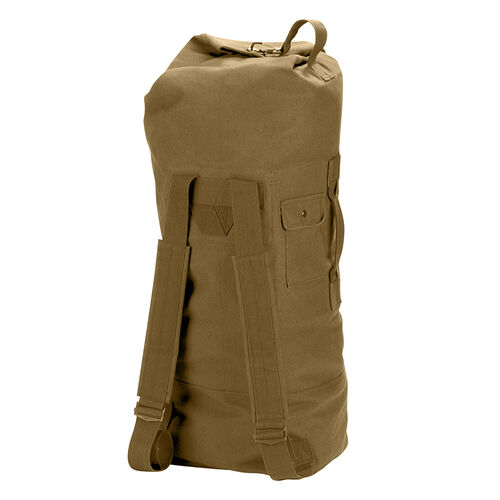 Rothco G.I. Style Canvas Double Strap Duffle Bag, , hi-res