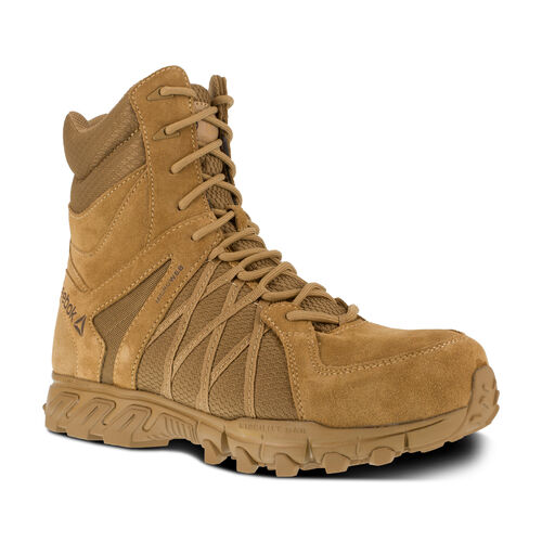 Reebok Trailgrip Tactical 8 inch Side Zip Boot, , hi-res