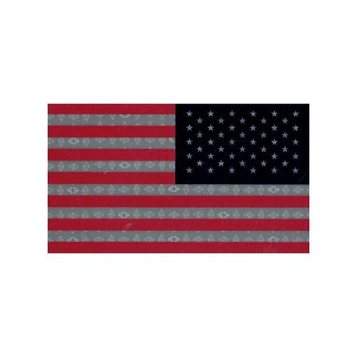 IR.Tools Infrared Reversed Printed Full Color American Flag Garrison Patch, , hi-res