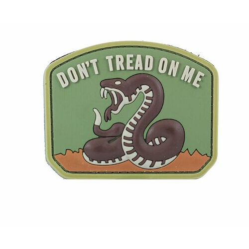 Don't Tread On Me PVC Morale Patch, , hi-res