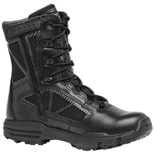 Tactical Research by Belleville Chrome 8 inch Waterproof Side Zip Composite Toe Boots, , hi-res