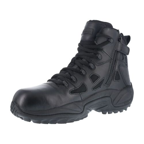 "Reebok Stealth 6"" Side Zip Composite Toe Boots, , hi-res"