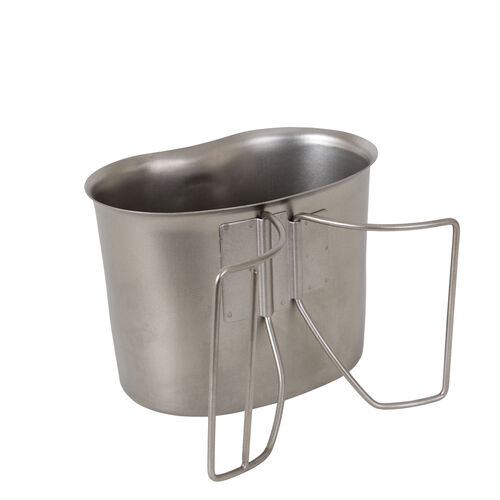 Rothco G.I. Type Stainless Steel Canteen Cup, , hi-res