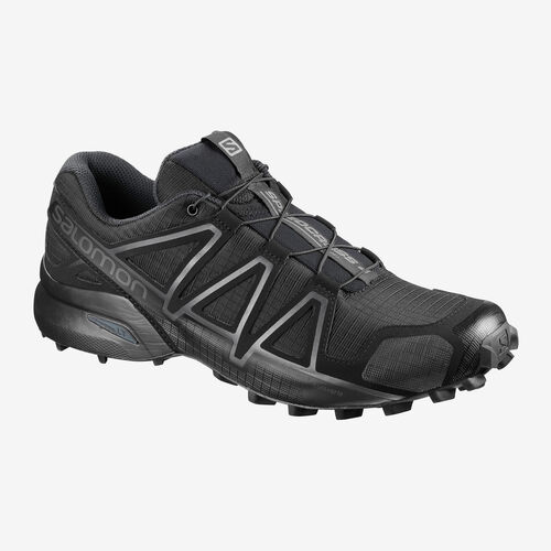 Salomon Speedcross 4 Forces Shoes (Black), , hi-res