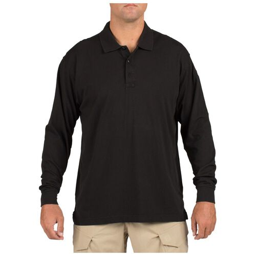 5.11 Tactical Jersey Long Sleeve Polo, , hi-res