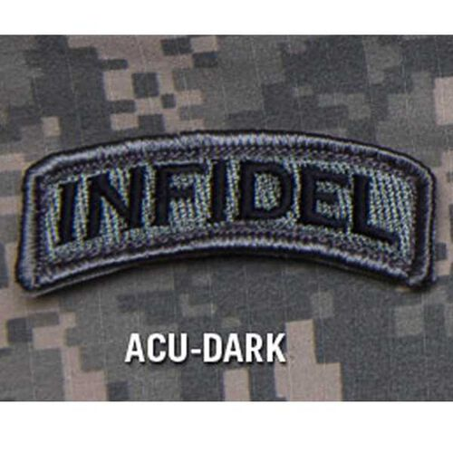 Infidel Tab Patch Mil-Spec Monkey Morale Patches, , hi-res