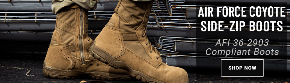 Get Your Air Force Side Zip Boots at USPatriot.com