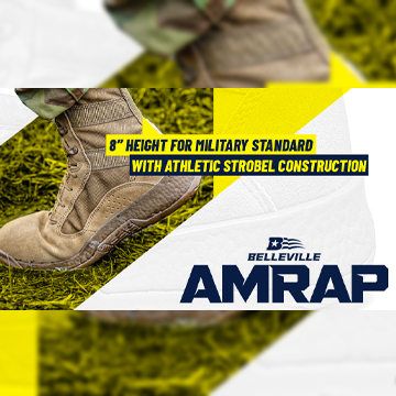 Featured Footwear at USPatriot.com - This month is the Belleville AMRAP