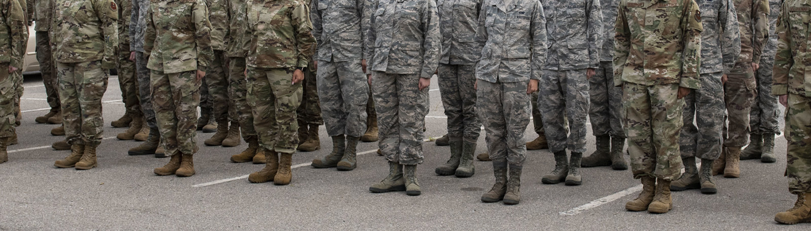 Military - Air Force Footwear Category